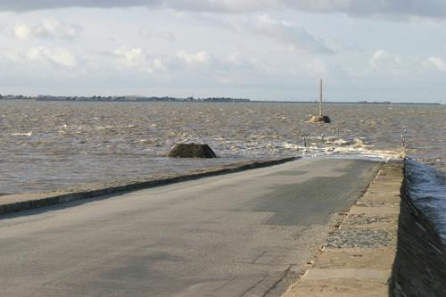 Le passage du Gois à Noirmoutier