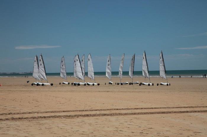 Char à voile plage Vendée